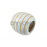 Dyson DC15 Ball Wheel Assembly White and Yellow, 909577-02